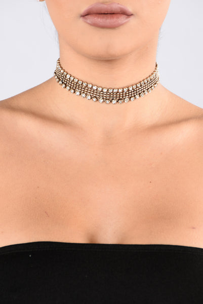 Anything For You Choker - Gold
