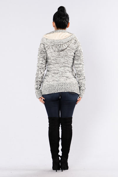 How It Is Sweater - Black