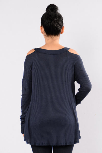 Give Me Love Top - Navy