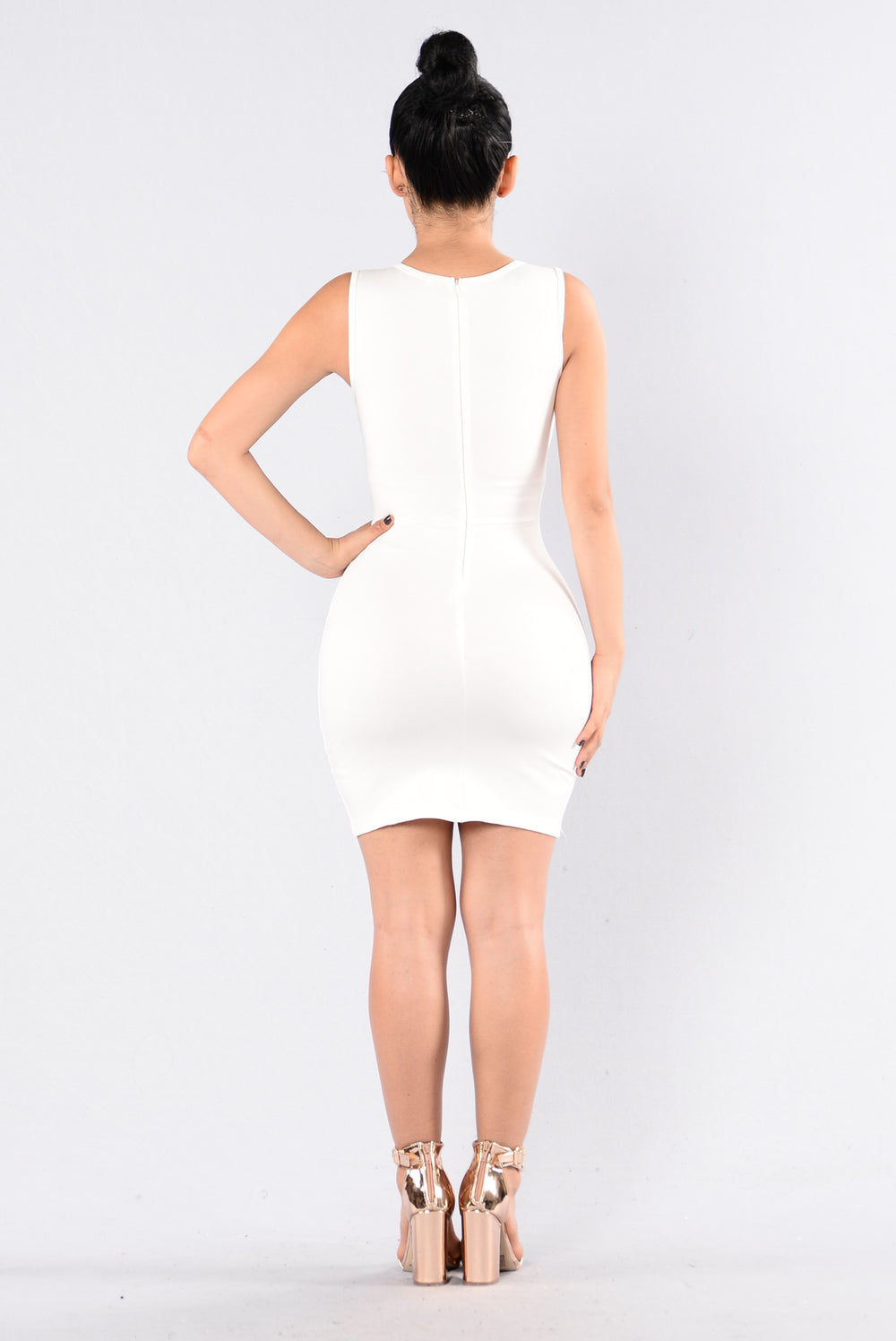 Alessa Dress - Off White