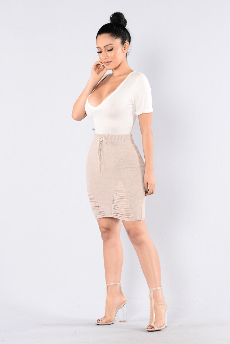 Under Construction Skirt - Sand