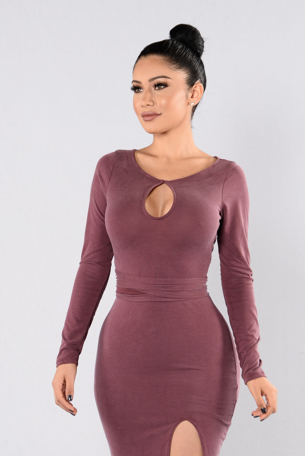 Real Love Dress - Plum