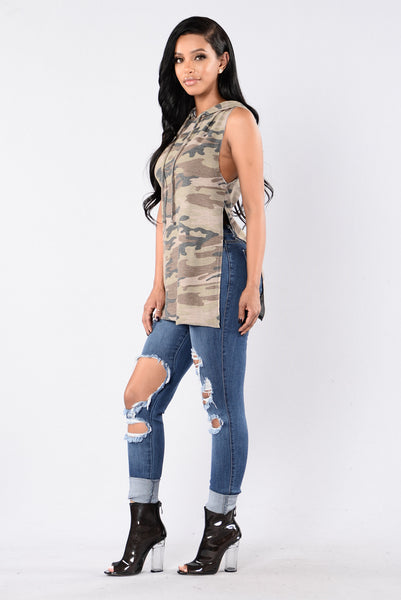 All Out Top - Camo