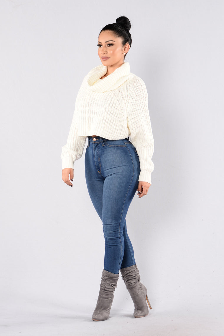 Halina Sweater - Ivory