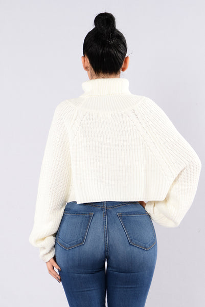 A Woman's Worth Sweater - Cream