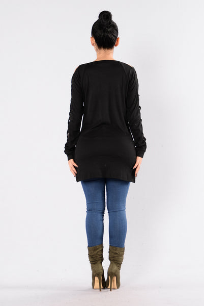 Teenage Love Affair Sweater - Black