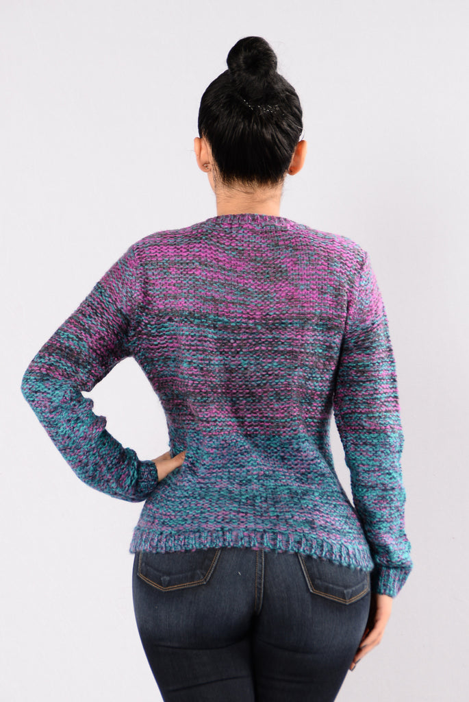 Fun Size Sweater - Purple