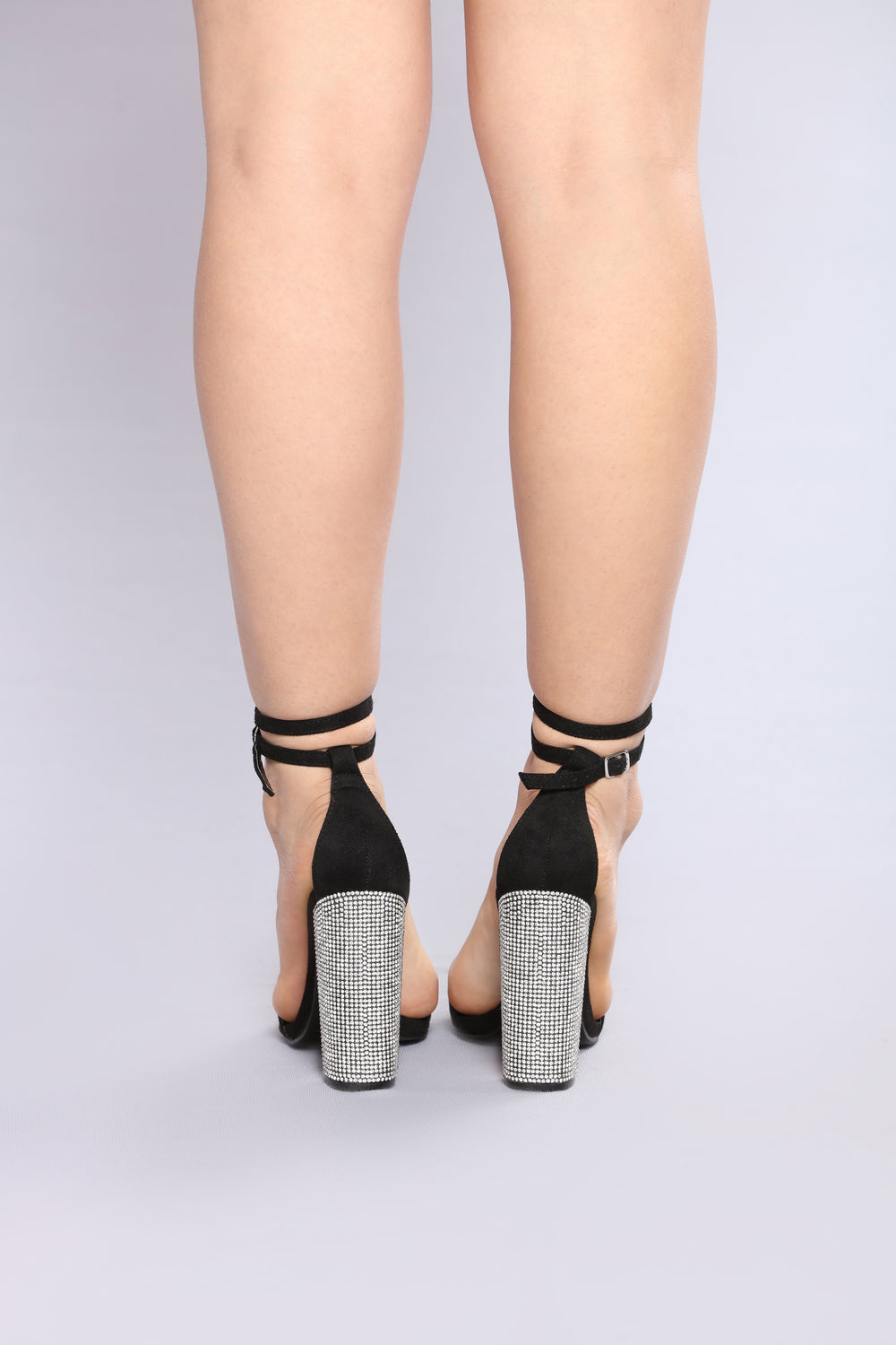Spread The Sparkle Heel - Black