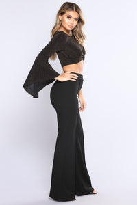 Kathryn Lovey Top - Black/Gold