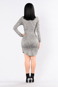 No Doubt Dress - Grey