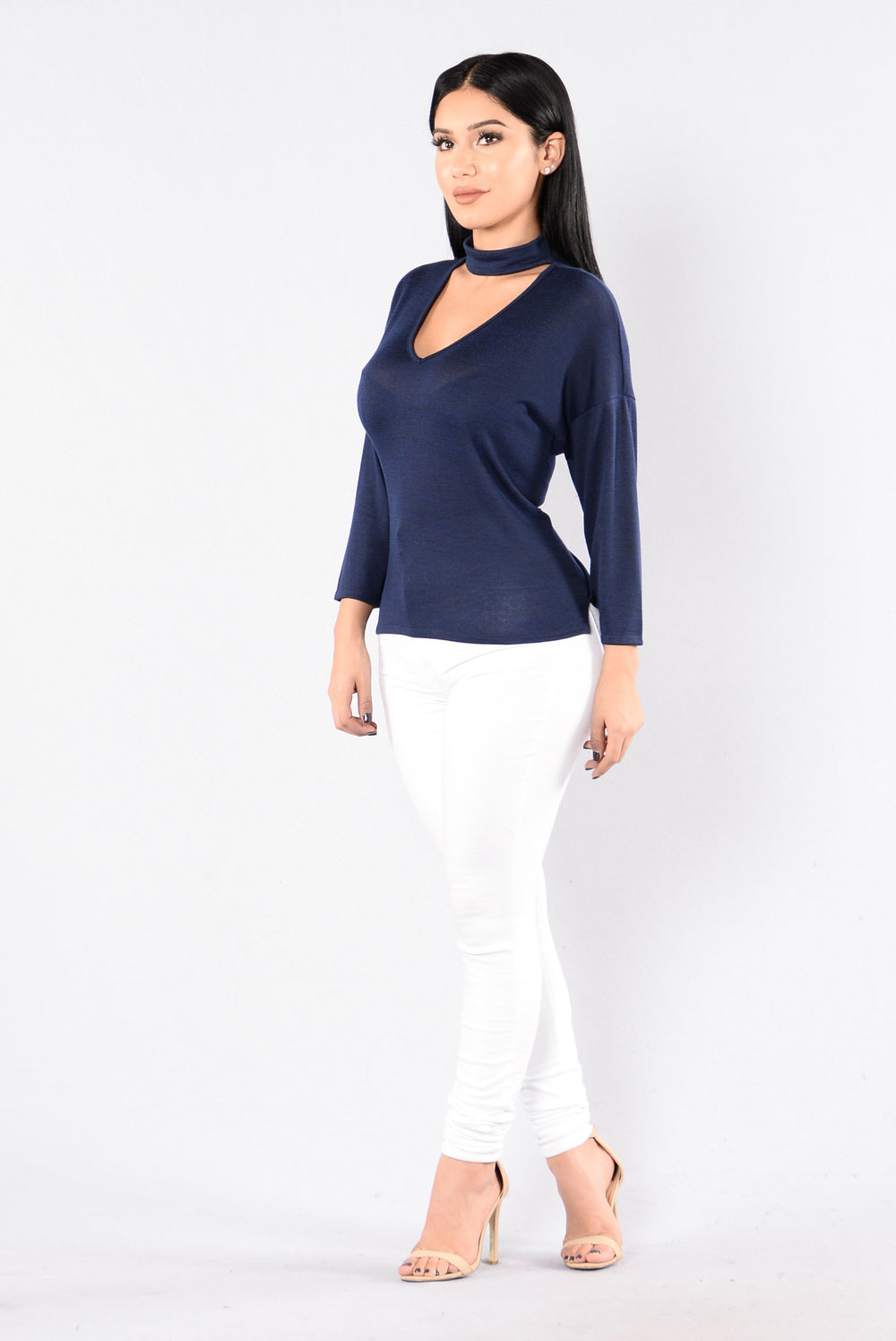 Lizette Sweater - Navy