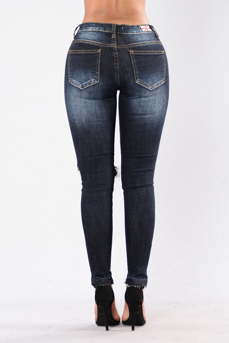 Hot Mess Jeans - Dark Wash