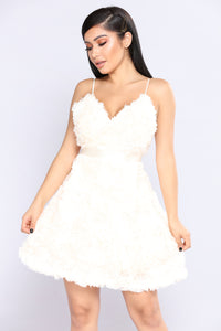 Give Affection Flare Dress - Ivory