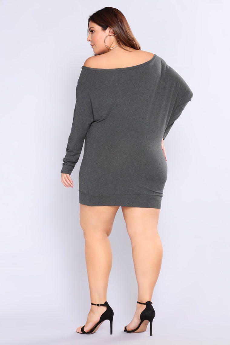 Worry Free Top - Charcoal