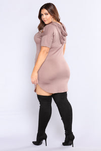 Say That You Love Me Tunic - Mocha