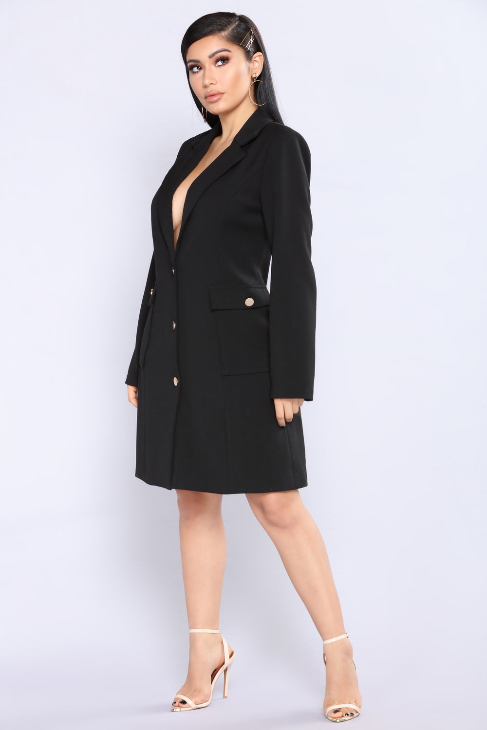 Why Not Coat - Black