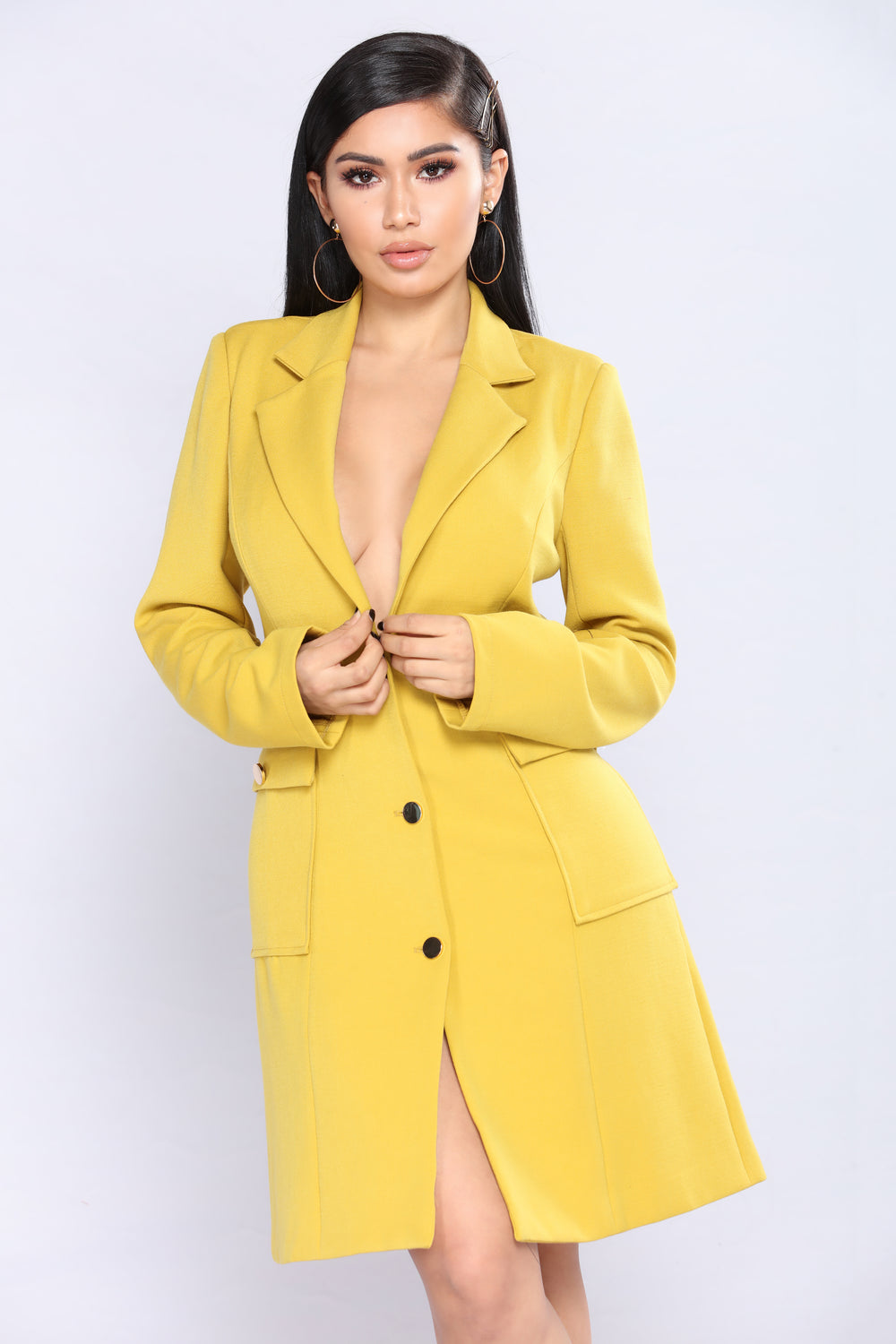 Why Not Coat - Mustard