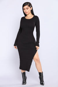 Linger Dress - Black