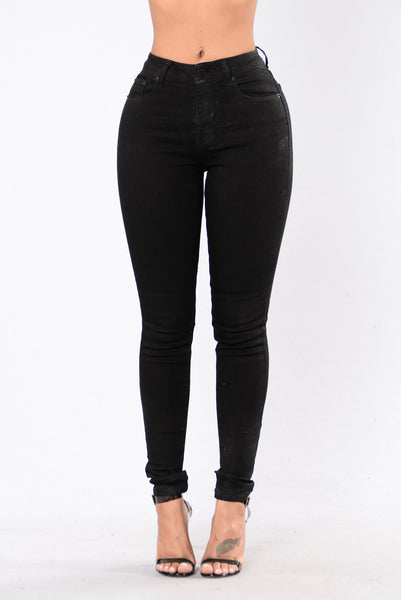 Why Ask Why Jeans - Black