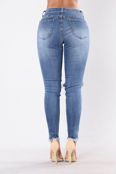 Don't Judge Jeans - Medium Light Stone
