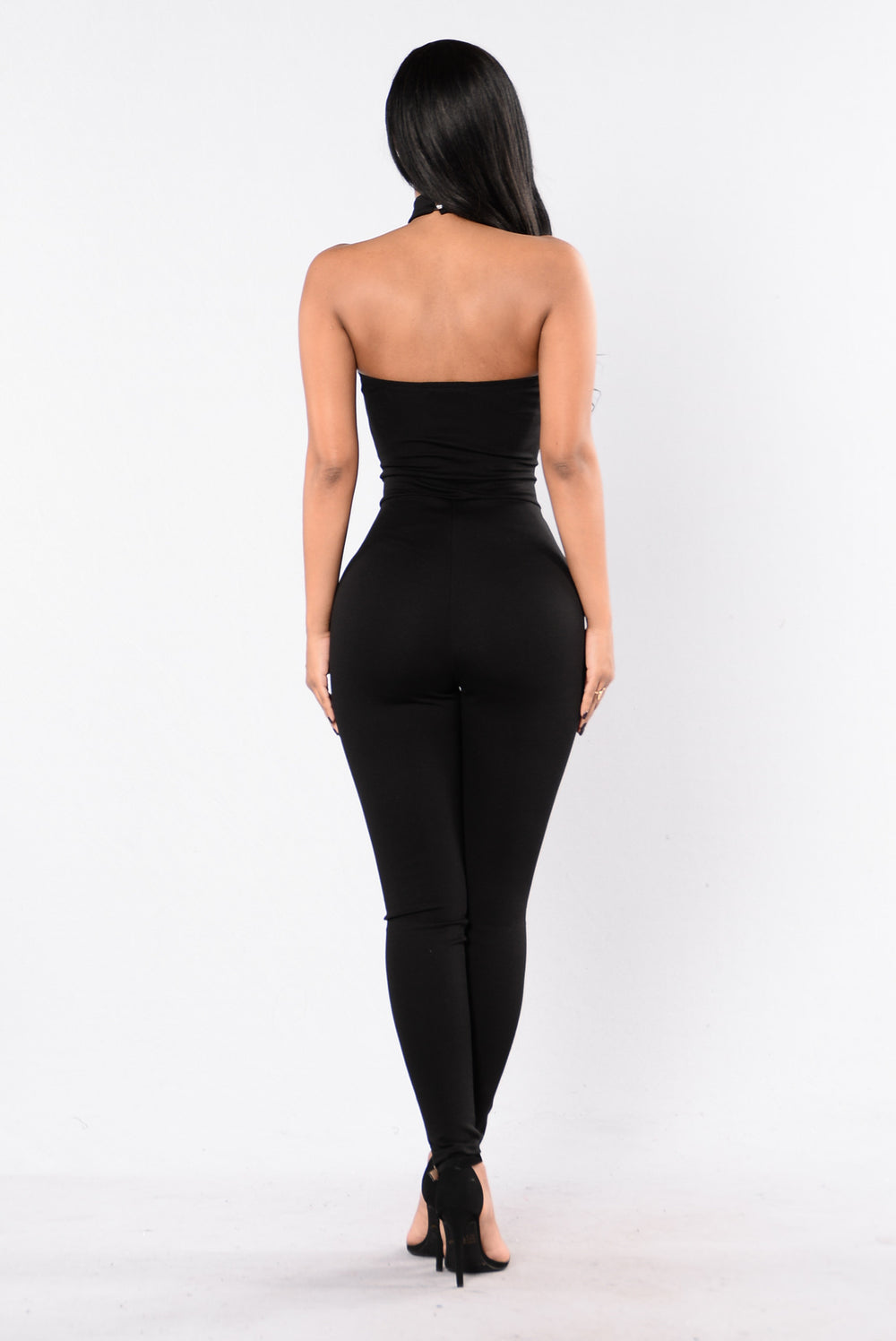 Make You Change Your Ways Jumpsuit - Black