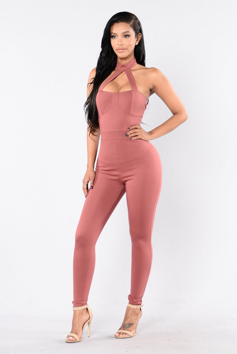 Make You Change Your Ways Jumpsuit - Marsala