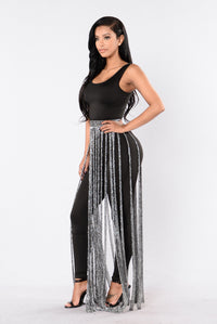 Moon Dance Skirt - Silver