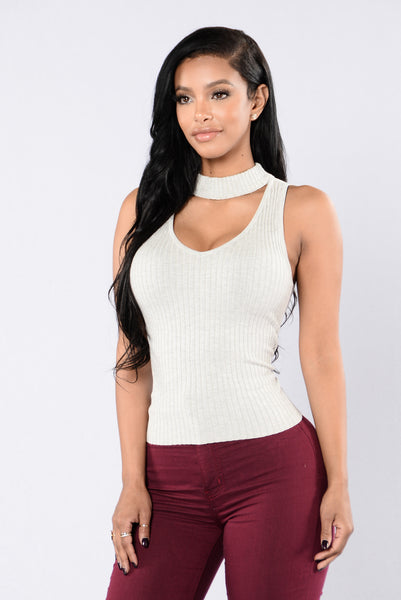 Haven Tank Top - Heather Grey