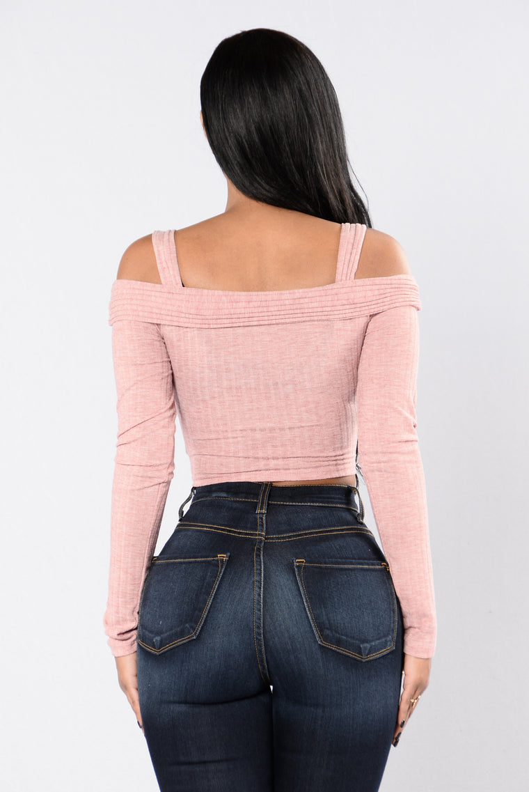 Just A Kiss Top - Blush