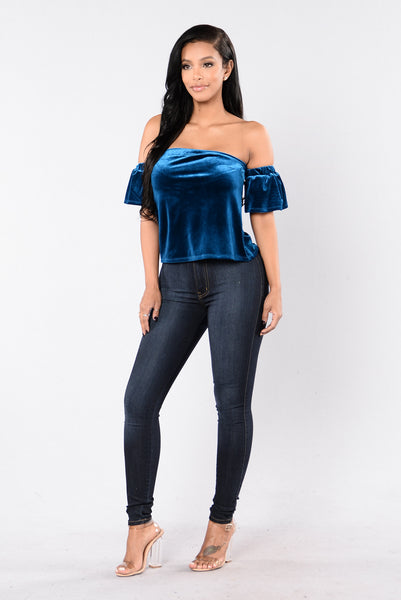 Night Baby Top - Gucci Blue