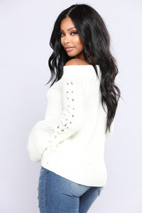 Limor Sweater - Ivory