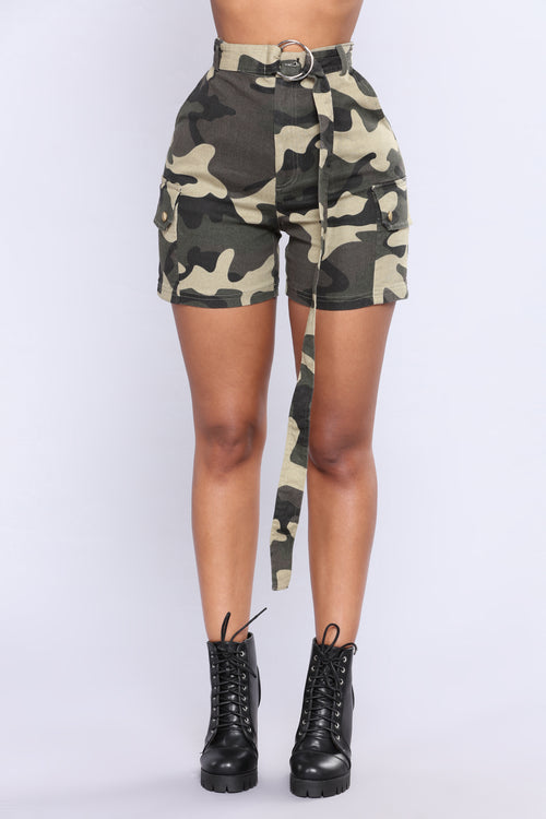 Bite The Bullet Camo Shorts - Camo