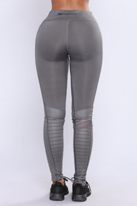 Ryder Moto Active Leggings - Charcoal