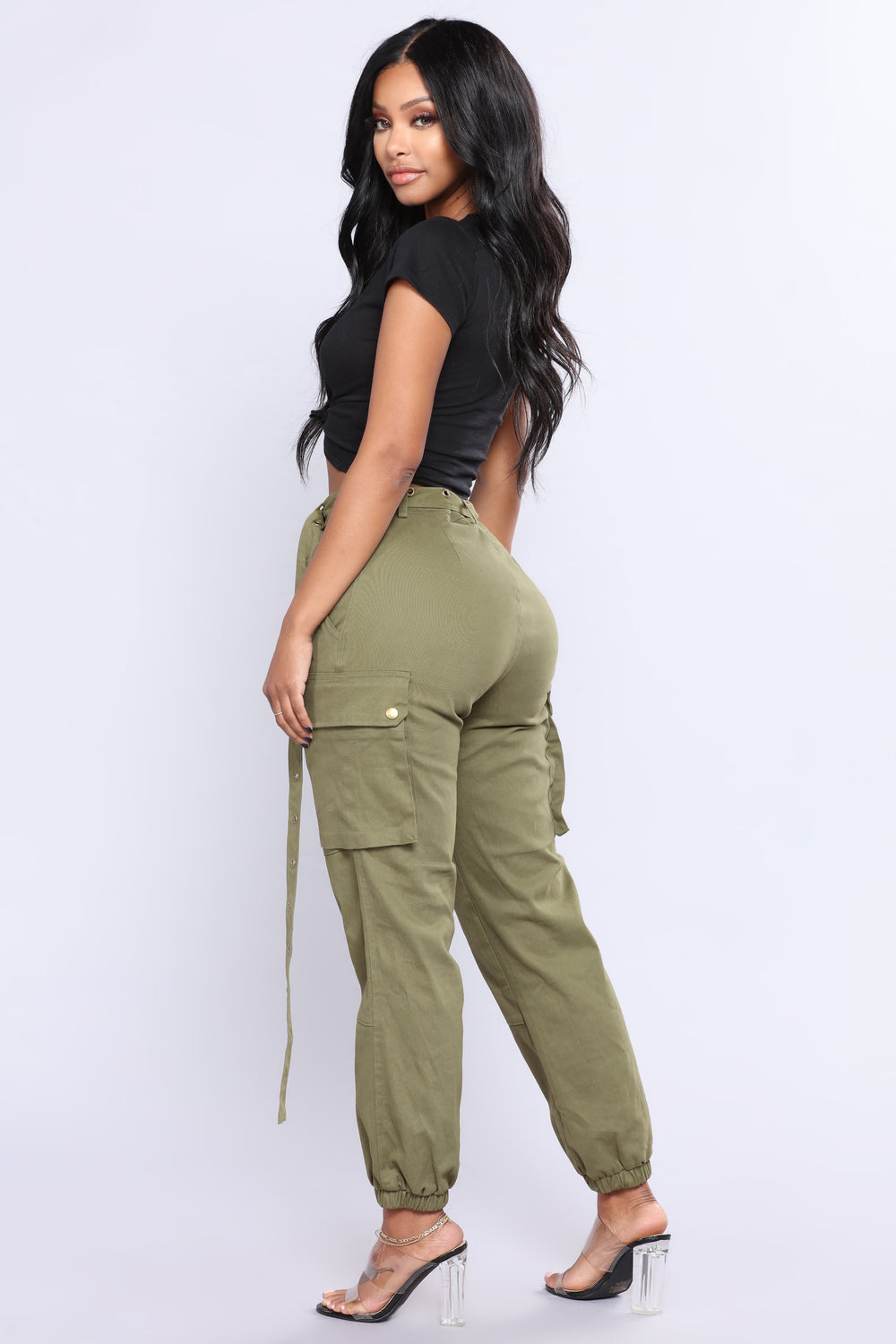 The Chic Curve Seattle Fashion: Cargo Chic Pants