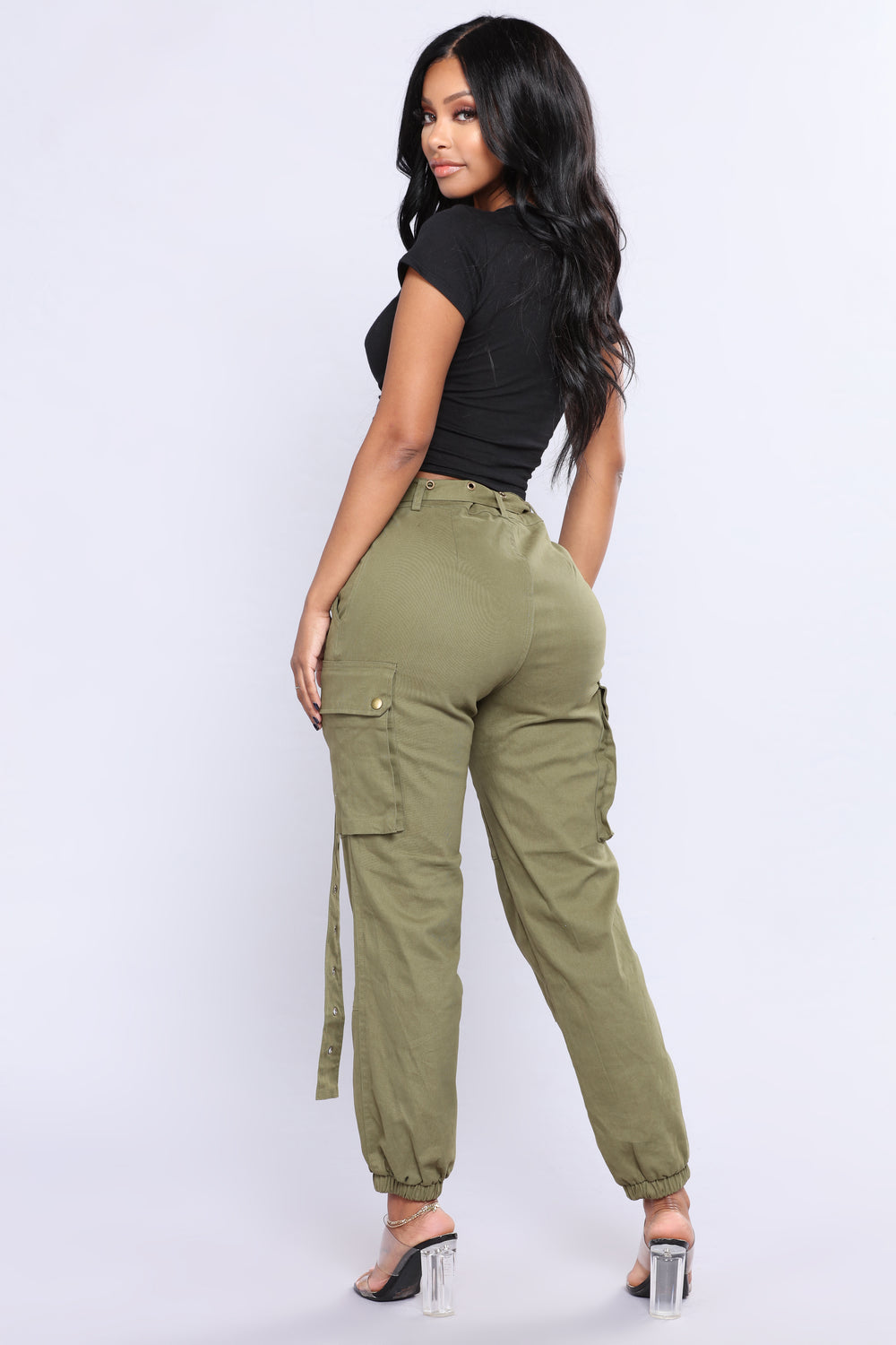 Cargo Chic Pants Olive