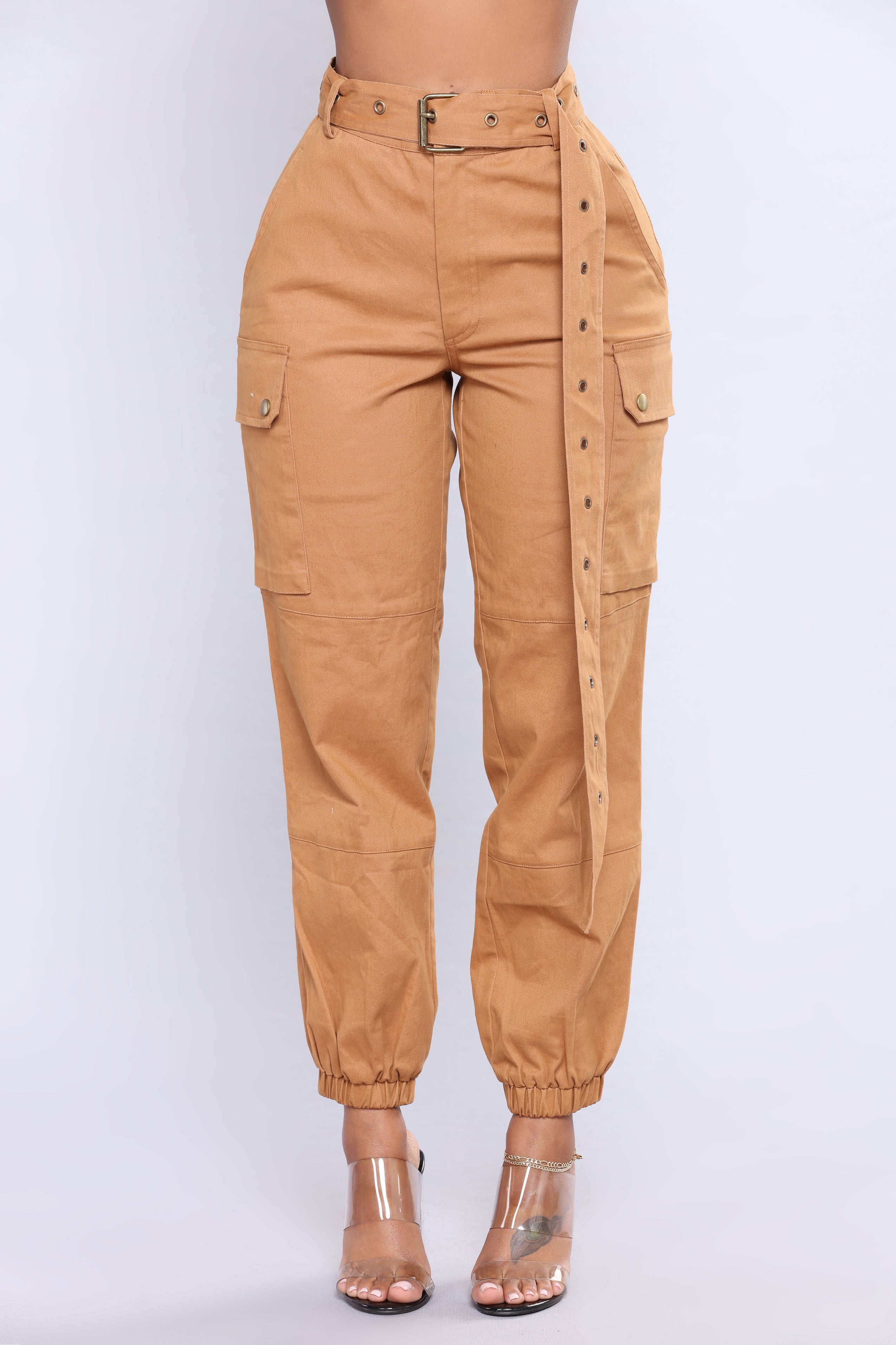 Cargo Chic Pants Camel