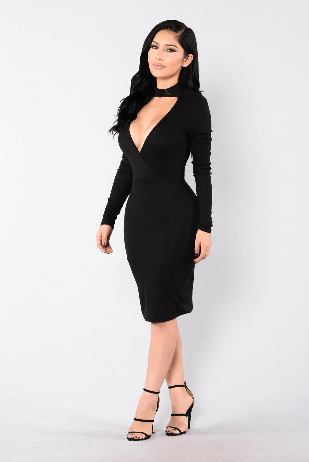 Sweetheart Dress - Black