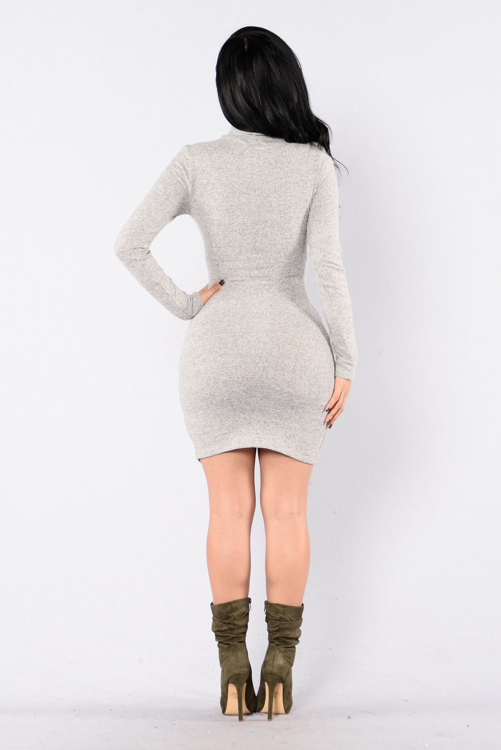 Elevate Dress - Heather Grey