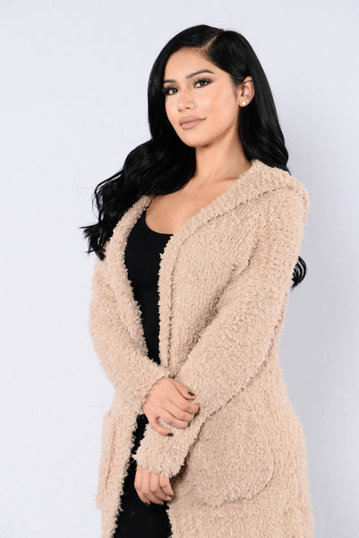 Counting Sheep Cardigan - Mocha
