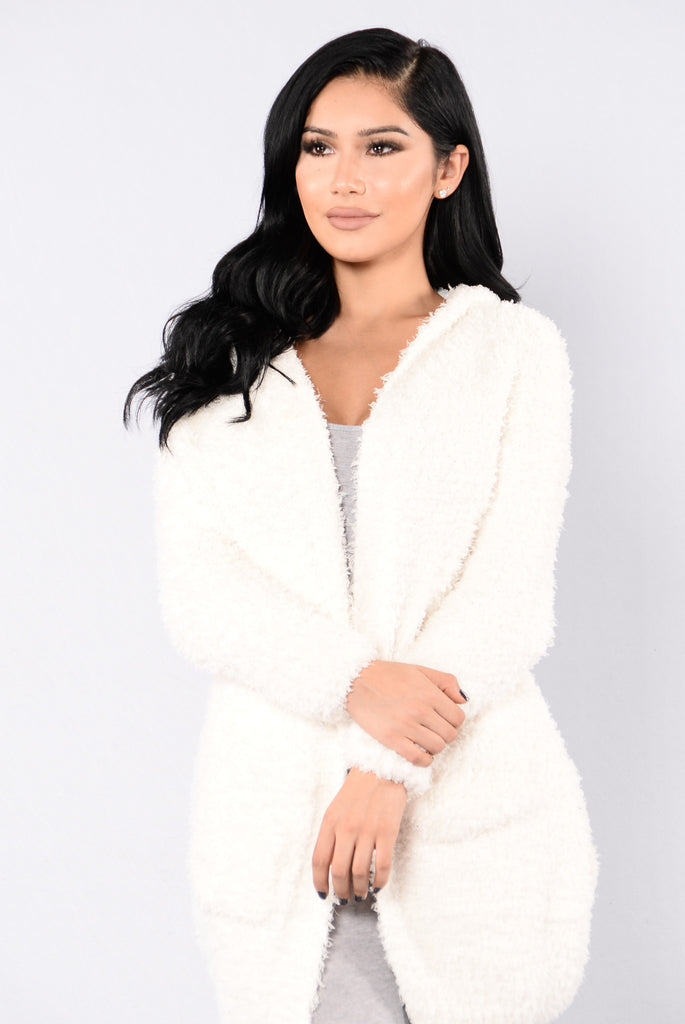 Counting Sheep Cardigan - Ivory