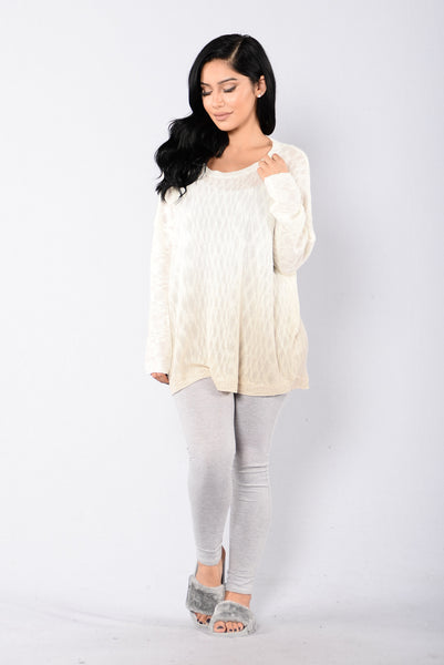 Show Your Colors Sweater - Ivory