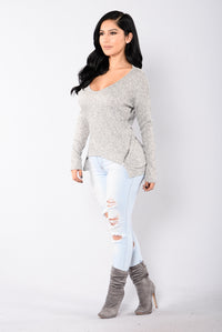 Sac Town Sweater - Grey