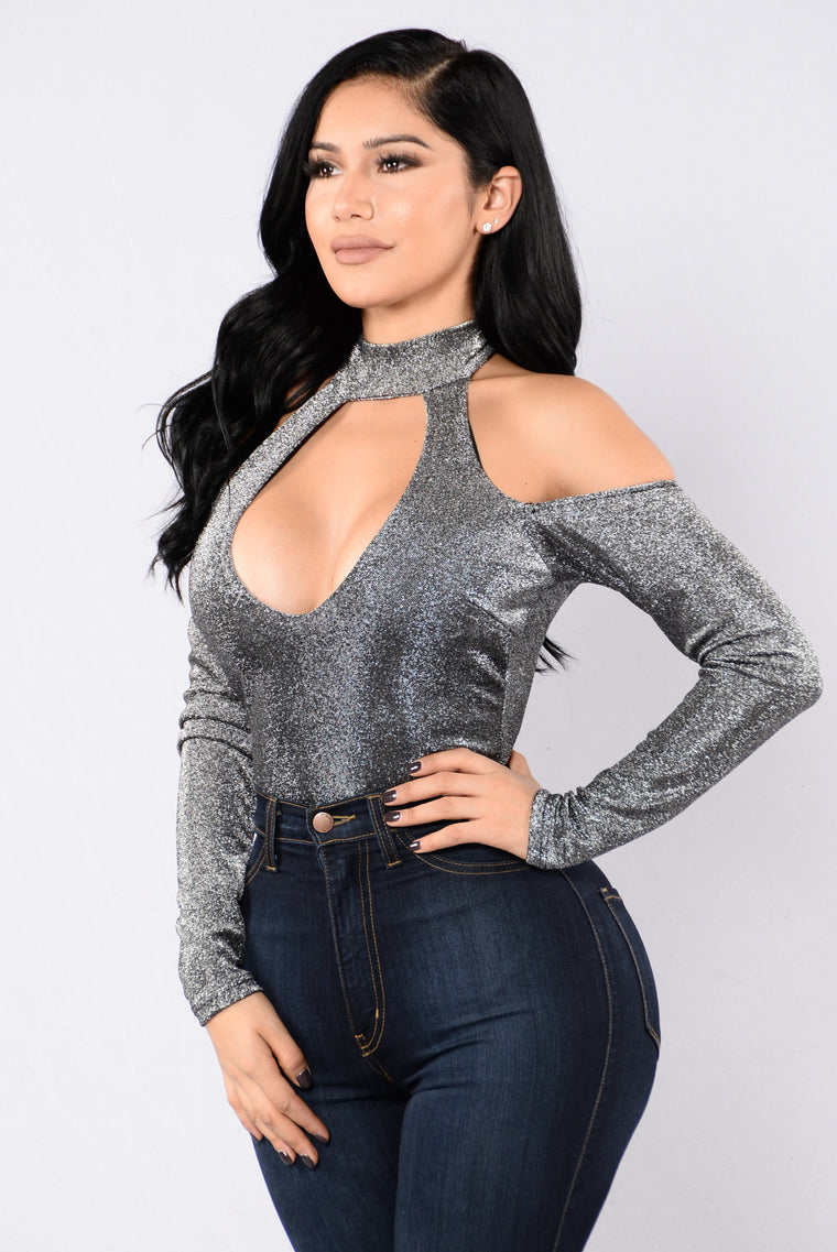 Limitless Bodysuit - Silver