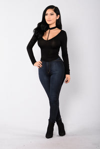 Love Harness Top - Black