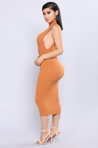 Skylynn Knit Dress - Pumpkin
