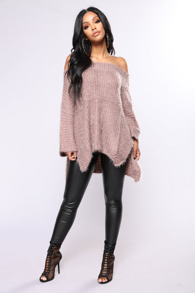 Made To Love You Sweater - Mocha