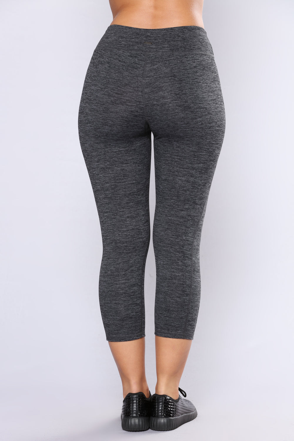 Crossfit Active Capri Leggings - Charcoal