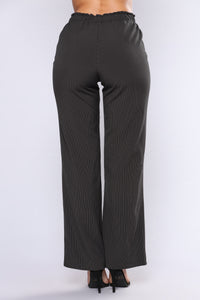 Make A Deal Pant Set - Black