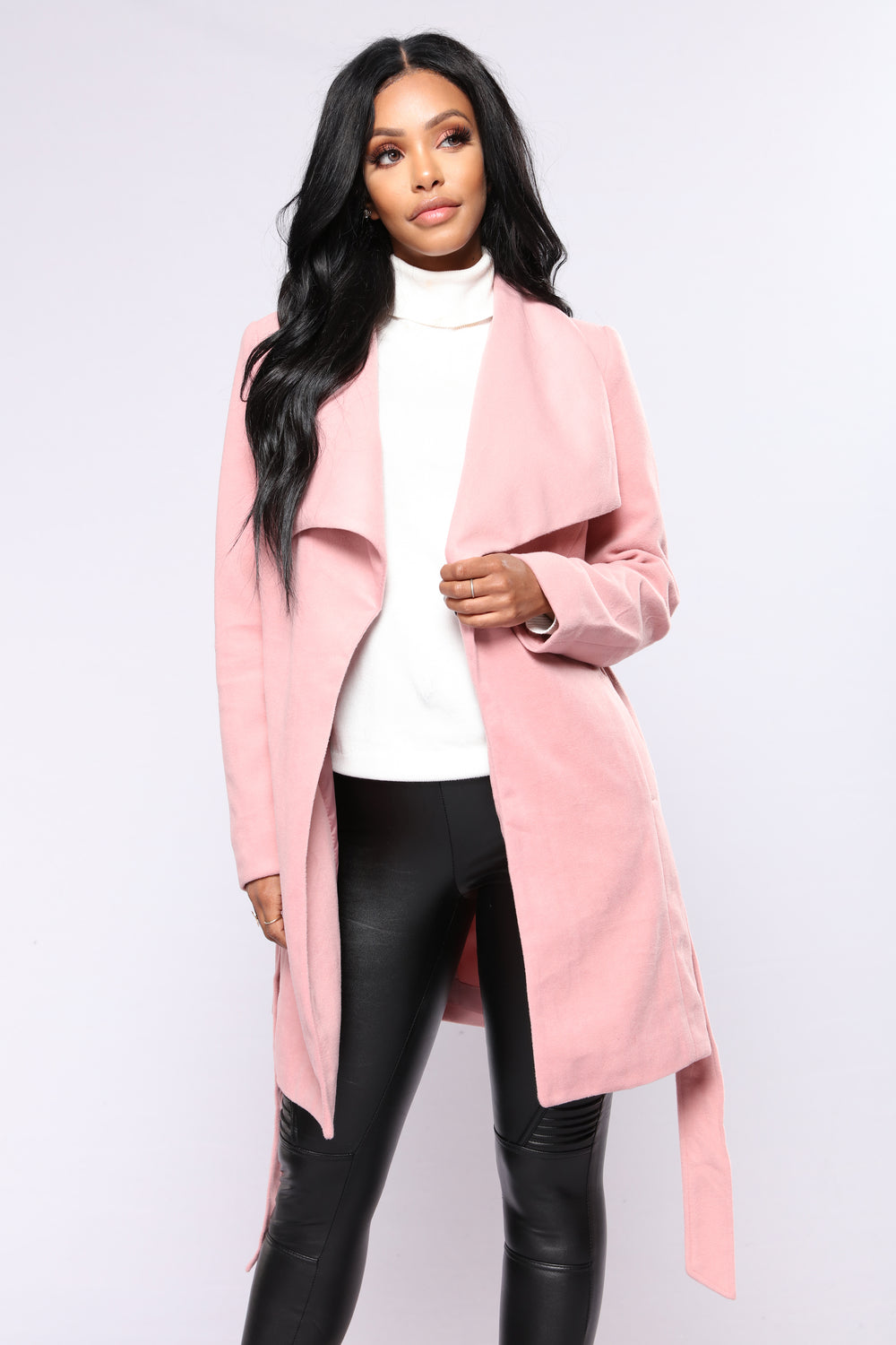 Fashion Nova City Girl Vibes Coat