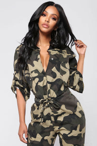 Obeying Orders Jumpsuit - Army